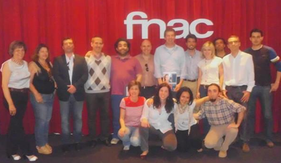 the Oporto Toastmasters club at the FNAC