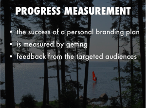 personal branding progress measurement