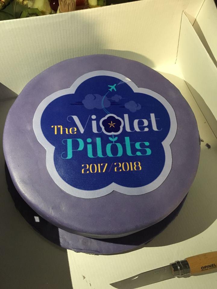 Toulouse Violet Pilot Cake