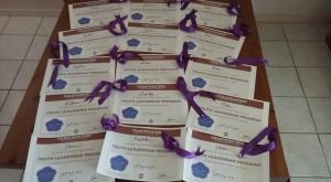 Toulouse Violet Pilot Certificates
