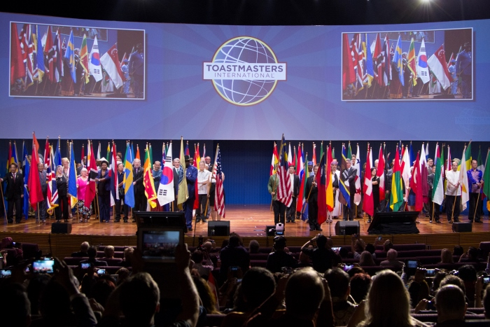 2015 Toastmasters World Convention in Las Vegas, USA