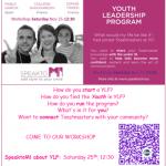 YLP Milan Workshop flier